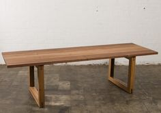 Mark Tuckey table / what if this was a bench?
