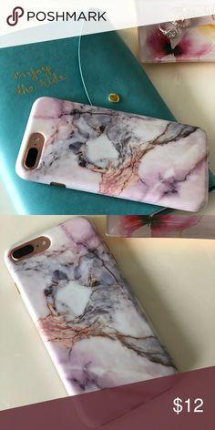 MarbleiPhone case fits 6,7 plus Velvet Caviar in marble sky fits iPhone 6 plus and 7 plus velvet caviar Accessories Phone Cases