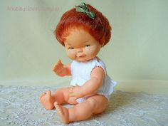 German baby doll 1962 designed by Charlot Byj by ShabbyGoesLucky