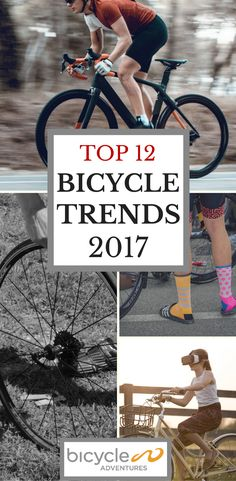 Carbon frames, hydraulic brakes, fingerprint sensors... 2017 is set to be an exciting year for cycling trends. Here's a peek at a few of our favourites.