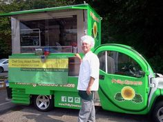 Philly Greens EV food truck