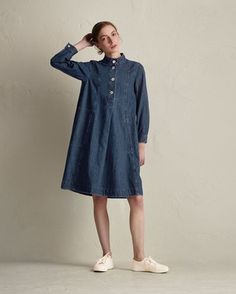 Women's Denim Leila Dress