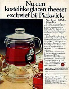 www.trondbargie.nl - - - - - - - - - Oude reclame Pickwick thee Ik heb hem nog staan van mijn oma
