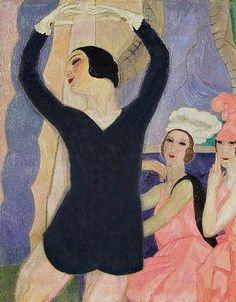 Leon de Smet (1881-1966). Anna Pavlova in London 1922