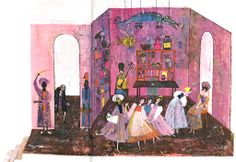 "Illustrated by Alice and Martin Provensen from Coppelia, ""Tales of the Ballet"", Golden Press 1968."