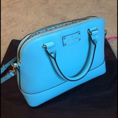 Kate Spade Wellesley Rachelle - Robins Egg Really pretty Kate spade handbag. It's in a great condition! kate spade Bags