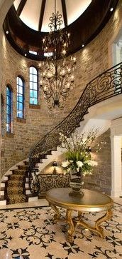 Foyer and Staircase....