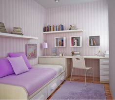 Beautiful bedroom for a 9-12 year old girl very purple great ...