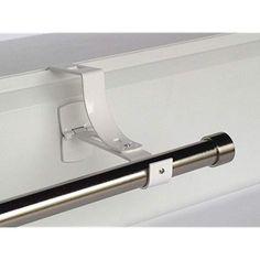 Heavy duty tringle à rideau en métal//rod wall brackets /& fixation support de tige 16 à 20MM