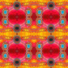 Lake Retba fabric by loriwierdesigns on Spoonflower - custom fabric