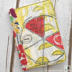 PaperArtsy & Everything Art stamps EEA03 - notebook cover by Cindy Gilstrap http://shop.everything-art.com/E__Everything_Art_06/p4497836_17421162.aspx