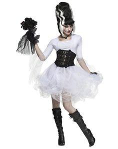 Halloween: DIY inspiration for bride of Frankenstein