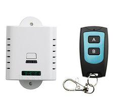 85V 110V 120V 220V 250V 1CH Radio Controller RF Wireless Relay Remote Control Switch 315 MHZ 433 MHZ Transmitter+ Receiver #Affiliate