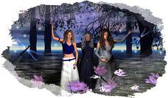 Triple Moon Goddess Symbols
