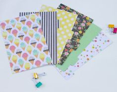 Disc bound Planner Dividers from esty.