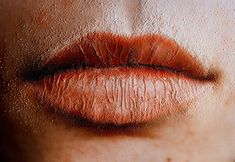 Peta Clancy's 'Lips 1', from the series 'She carries it all like a map on her skin' 2011.