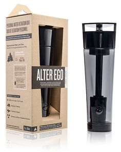 ALTER EGO: Personal Water Filtration.  WATER FOR ALL. ANYWHERE. -  https://www.indiegogo.com/projects/alter-ego-personal-water-filtration/x/3710900