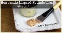 Homemade liquid foundation www.cocoswell.com Homemade Foundation, Diy Foundation, Natural Foundation, Flawless Foundation, Mineral Foundation, Diy Makeup, Makeup Tools, Makeup Brushes, Beauty Care