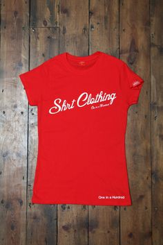 Shrt Clothing Ladies Red Americana Tee #PEAKXII