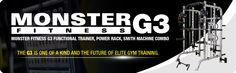 Force USA Monster G3 Power Rack Cage Smith Machine Elite Fitness Equipment Australia Fitness Equipment Stores, No Equipment Workout, Elite Fitness, Smith Machine, Power Rack, Gym Training, Cage, Banners, Strength