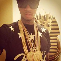 Tyga Last Kings. All gold