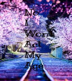 Act my age one direction