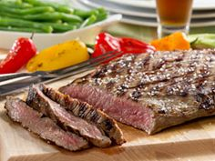 We combined two of Dad's favorites to come up with this recipe for Dad's Beer Marinated Steak. It's our outrageous marinade that makes this flank steak so mouthwatering and rich-tasting. Make this for him on Father's Day or any day and you'll definitely impress him.