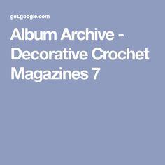 Album Archive - Decorative Crochet Magazines 7