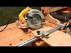SHOP BUILT Circular Saw Guide Rail. Самодельная направляющая шина.