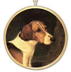 Foxhound Sporting Art Ornament $26.00