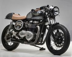 Ok I want a Cafe Racer also now. Cafe Bike, Cafe Racer Bikes, Cafe Racer Motorcycle, Motorcycle Design, Motorcycle Gear, Motorcycle Accessories, Women Motorcycle, Motorcycle Quotes, Thruxton Triumph