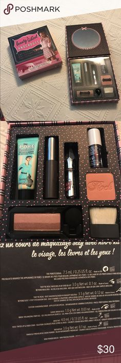 Beauty School Knockouts Makeup Kit Brand new in original box. benefit cosmetics Makeup