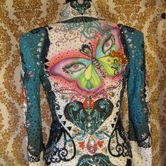 """What's up"" jacket    Custom made for Natalie Samek"