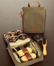 Afbeeldingsresultaat voor shoe shine kit , leather