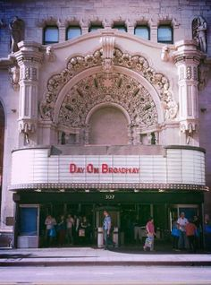 Broadway's Churrigueresque style Million Dollar Theatre