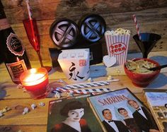 Kit noche de ciné para San Valentin Chocolate Fondue, Birthday Candles, Party, Desserts, Kit, Food, Dinners, Breakfast, Night