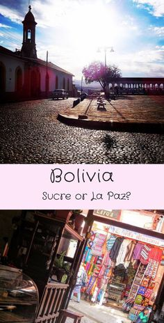Go once and it will call you back. But if you have to choose between Sucre and La Paz. Backpacking South America, South America Travel, Ecuador, Sucre Bolivia, Chile, Peru, South America Destinations, Travel Destinations, Visit Brazil