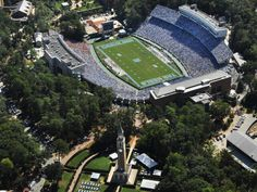 """""""Kenan Stadium, Chapel Hill, NC A little bit of heaven on earth!"""" Couldn't agree with this description more <3"""