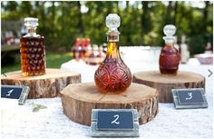Make a bar effective with having some tastings of your favourite port or scotch. www.breatheevents.com.au