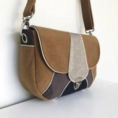 patron besace vegas (6) Couture, Saddle Bags, Vegas, Fashion, Making Purses, Tuto Sac, Satchel, Fallow Deer, Wallet