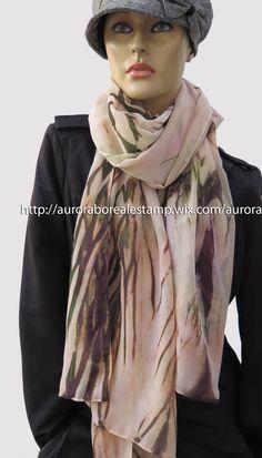 Echarpe em musseline 200x70 cm #estamparia manual #estampariaartesanal #arashi tecido/ fashion/ diy/ style/ foulard/ couture/ femme/ tecido/ fashion/ tissus/ mode