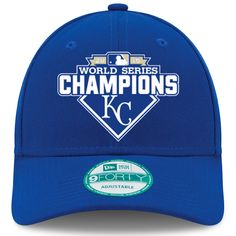 Kansas City Royals 2015 World Series Champions 9FORTY Adjustable Cap by New Era - MLB.com Shop