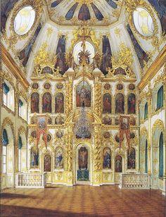Peterhof: Restoration of Palace Church Nears Completion