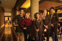 Between them, the multicultural staff speak 19 languages at Sheraton Macao