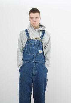 Carhartt Jacket - Carhartt - Duck Active Jacket - Thermal Lined Overalls Outfit, Black Overalls, Bib Overalls, Hoodie Outfit, Dungarees, Carhartt Overalls, Carhartt Jacket, Herren Outfit, Love Jeans