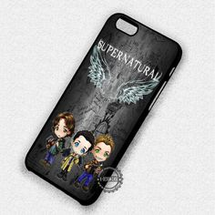 Supernatural Cute The Winchester - iPhone 7 6 Plus Cases & Covers