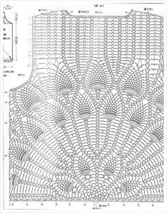 peacock top crochet pattern