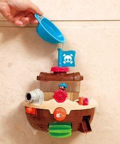 Love this Pirate Ship Bath Toy on #zulily! #zulilyfinds