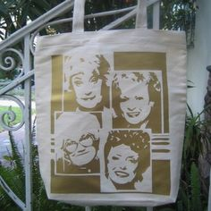 Golden Girls totebag. WHY DOESN'T THIS EXIST ANYMORE? @Taylor Sullivan I know you are as upset about this as I am.