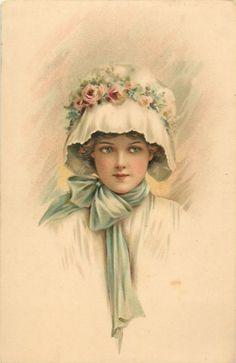 Gallery.ru / Фото #14 - Дамочки со старинных открыток - Anneta2012